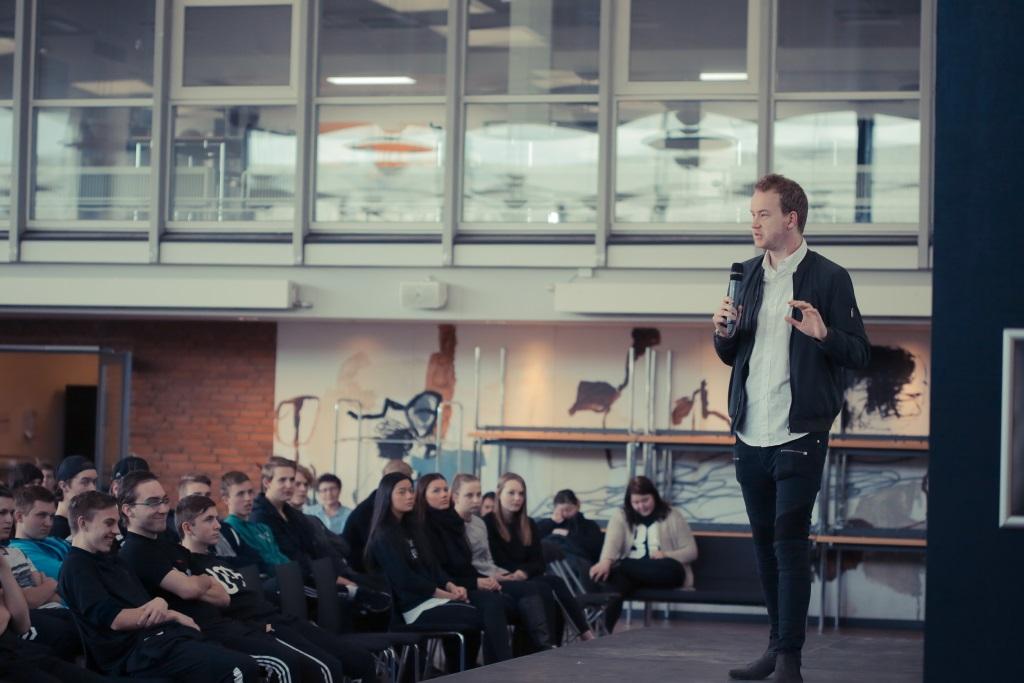 Foredrag for unge: Iværksætterturen