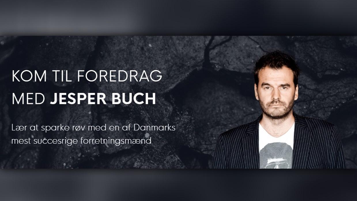 Kickass tour: Åbne foredrag med Jesper Buch