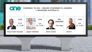 Onlineforedrag