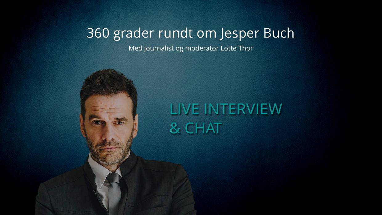 Live interview med Jesper Buch